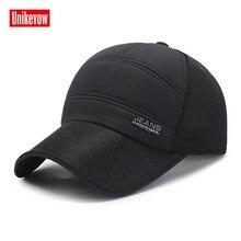 UNIKEVOW High quality Mesh Baseball Cap Unisex Sports Leisure Hats Jeans Sport For Men  Hip Hop quick dry cap