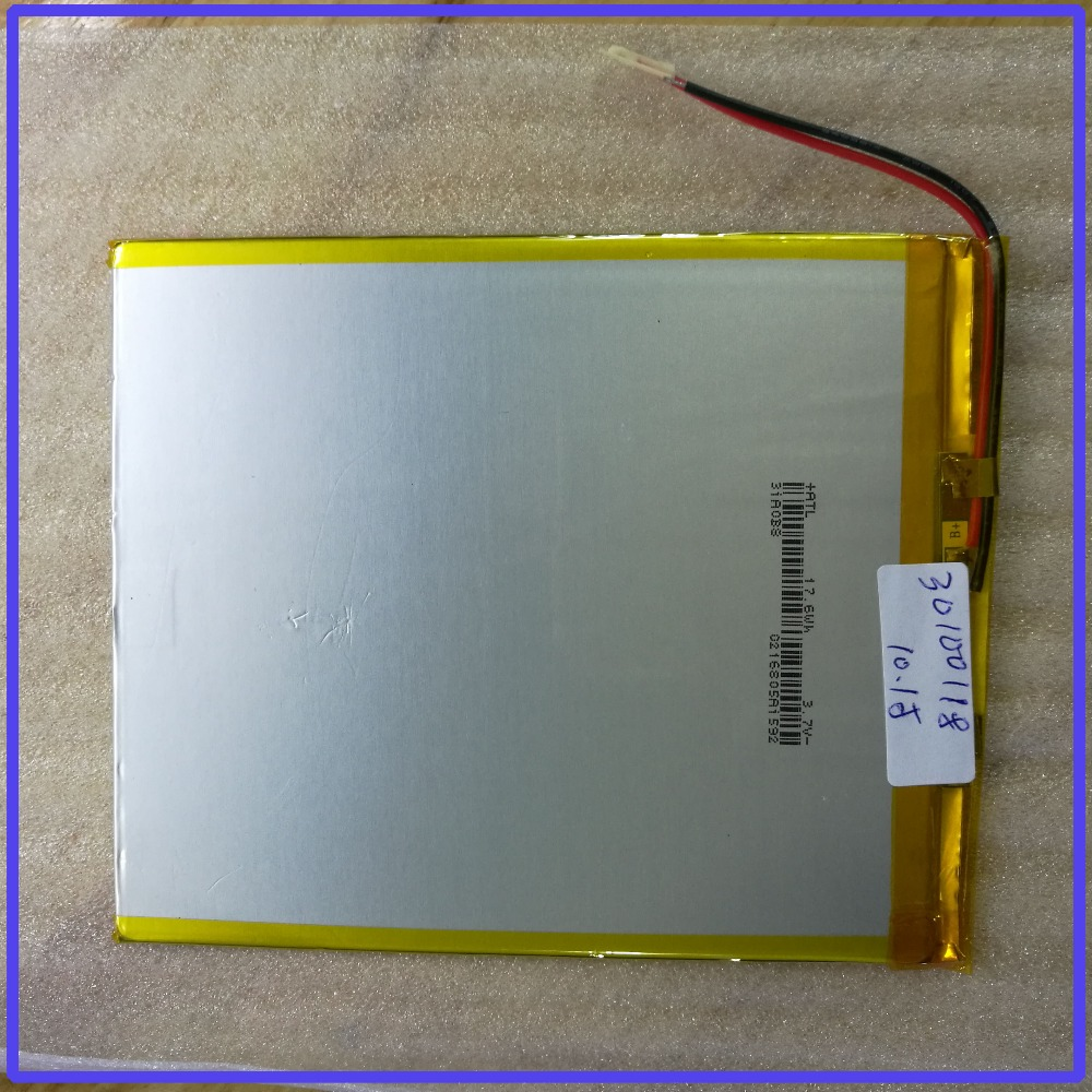 for tablet pc 10 1inch table 30100110 30mm 100mm 118mm 3 7V 4000mah polymer lithium ion