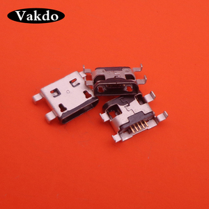 Image 2 - 100pcs Micro USB 5pin Female Connector For MOTO G1 Mini USB Jack Connector Applicability for mobile phone charging tail plug