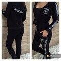 Mulheres com capuz zipper estilo leisure suit tamanho S-XL senhoras fatos de treino Sportswear gola redonda senhora populares 1022 #