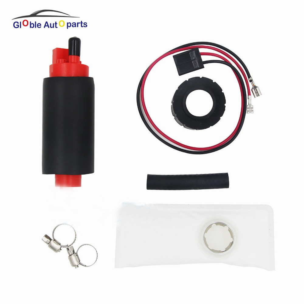 12V 255LPH Fuel Pump For BMW Chrysler Laser Dodge Ford Volvo 240 244 245 740 760 850 960 V90 Mercury Capri GSS340 TP-204