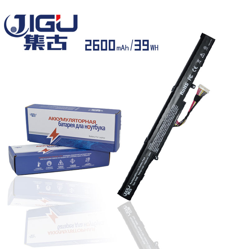JIGU 2600mAH Laptop Battery A41-X550E F450E R752MA K550E X751MA X751MD X751MJ FOR ASUS