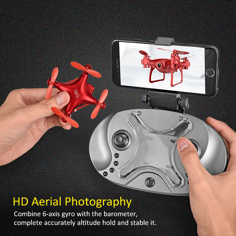 Global Drone Gw009c-1s Mini Drone With Camera Hd Upgrade Quadcopter Altitude Hold Rc Helicopter Drones Micro Dron Quadrocopter #4