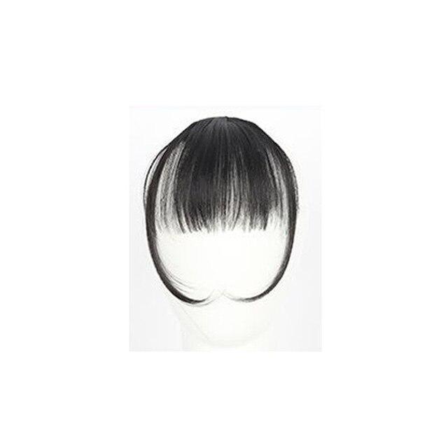 Girls Clip In Front Bang Fringe Hair Extension 3