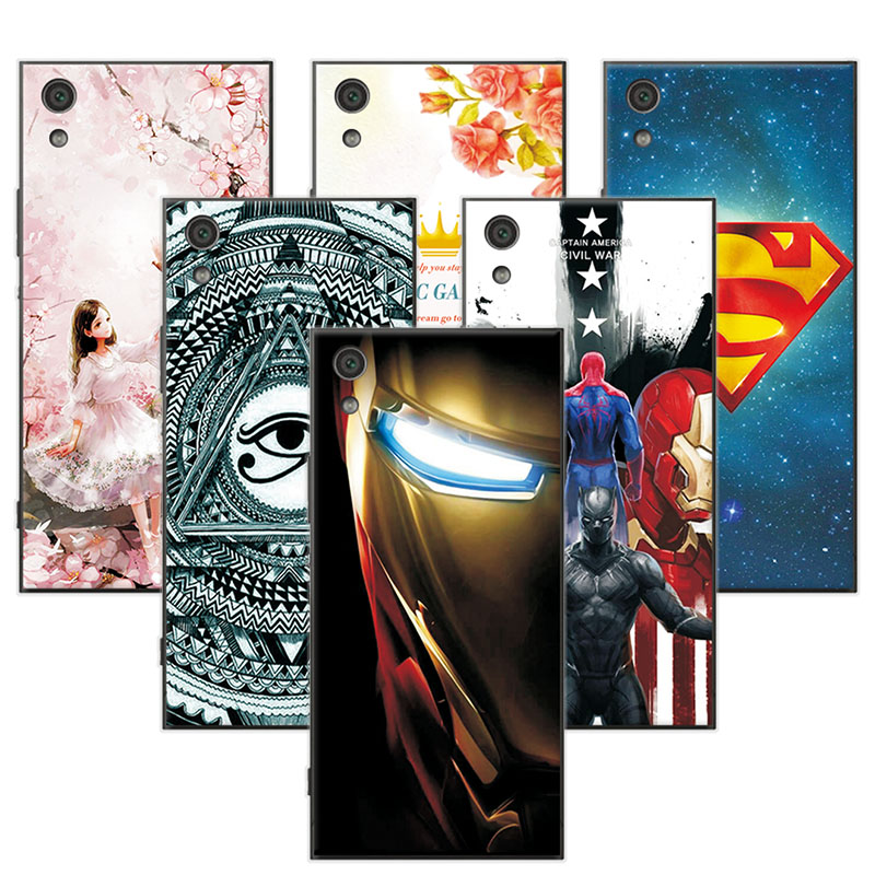 YOUVEI Attractive For Sony Xperia XA1 Ultra Case Super Iron Man Back Cover Case For Sony XA1 Ultra 6.0