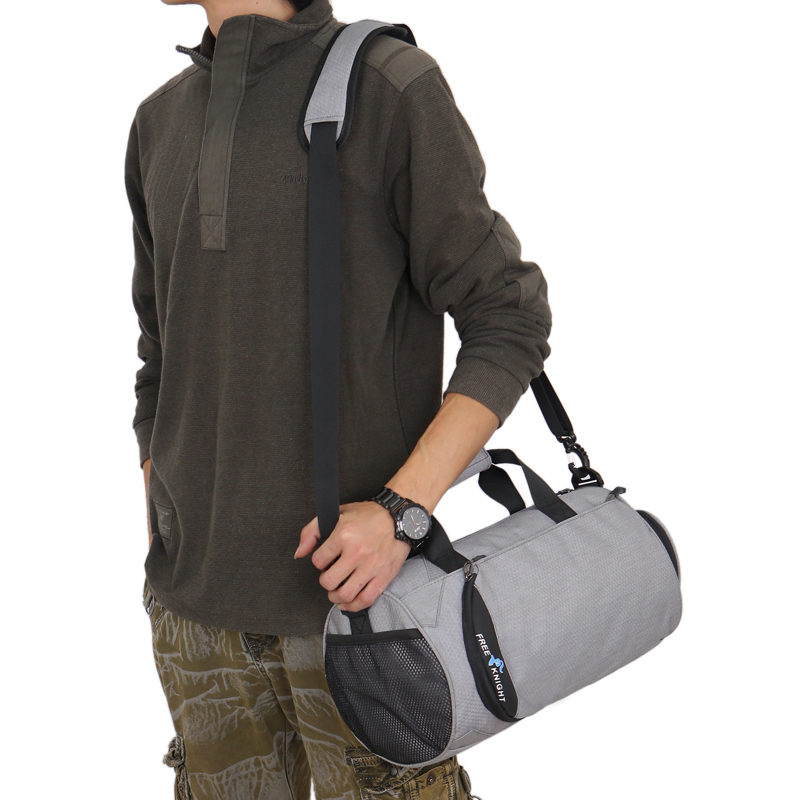 Free Knight Waterproof Women Men Sports Gym Bags Shoulder Handbag Travel Bag for Yoga Sport Fitness Training