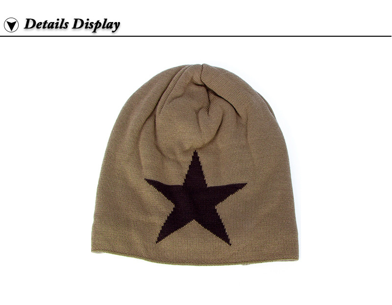 e8f78228e11 Men Winter Hat Beanie Gorro Gorros De Lana Gorras Warm Bonnet Chapeu ...