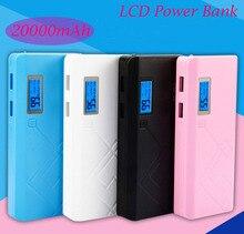 Banco de Potência com Display Powerbank para o para o Telefone Móvel ao AR LCD e LED Recomendar 20000 MAH de LUZ Externa Carregador Telefone Móvel para ao AR Livre Diárias USO