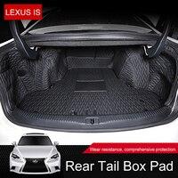 QHCP из микрофибры коврик багажник автомобиля Коврики для багажника загрузки коврики Pad защита для Lexus IS250 200 Т 300 Спорт авто аксессуары