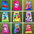 Coches de la historieta de mickey minnie dora gatito los vengadores toallas bebé niños cotton beach bath towel 150*72 cm gyh