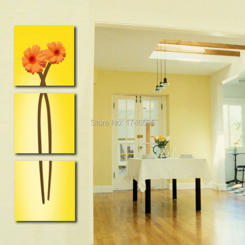 Big 3pcs Abstract Wall Art Picture For Living Room Bedroom