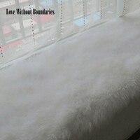 6cm Long Real Wool Cushion High Quality Floating Window Cushion Mattress Sofa Cushion High Quality Plush