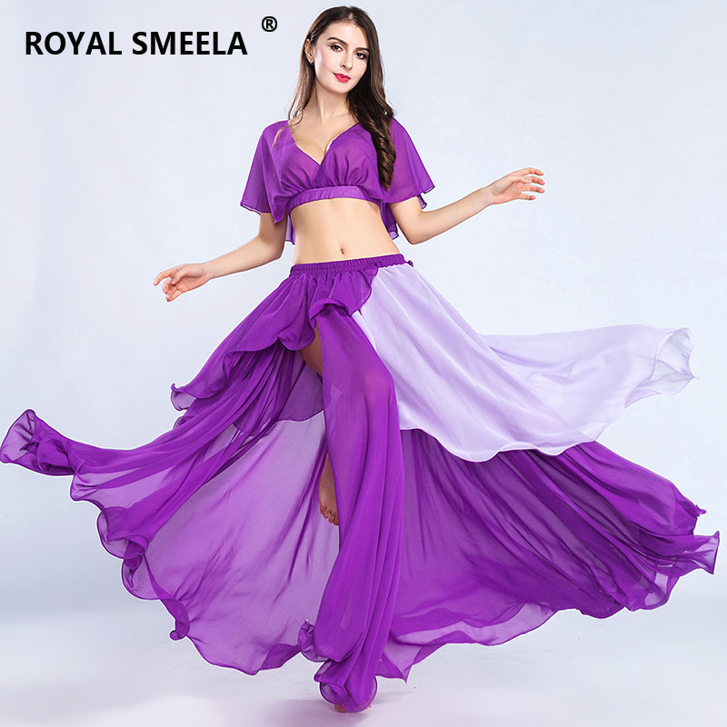 Hot Sale Free Shipping 2019 New Design Top Grade High Quality Belly Dance Suit/bellydance Costume/wear/Top Skirts-ZH8812