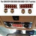 LED Center Dome Roof Overhead Interior Reading Map Light Lamp For BMW E90 E91 E92 E60 E65 E82 1 3 5 7 SERIES