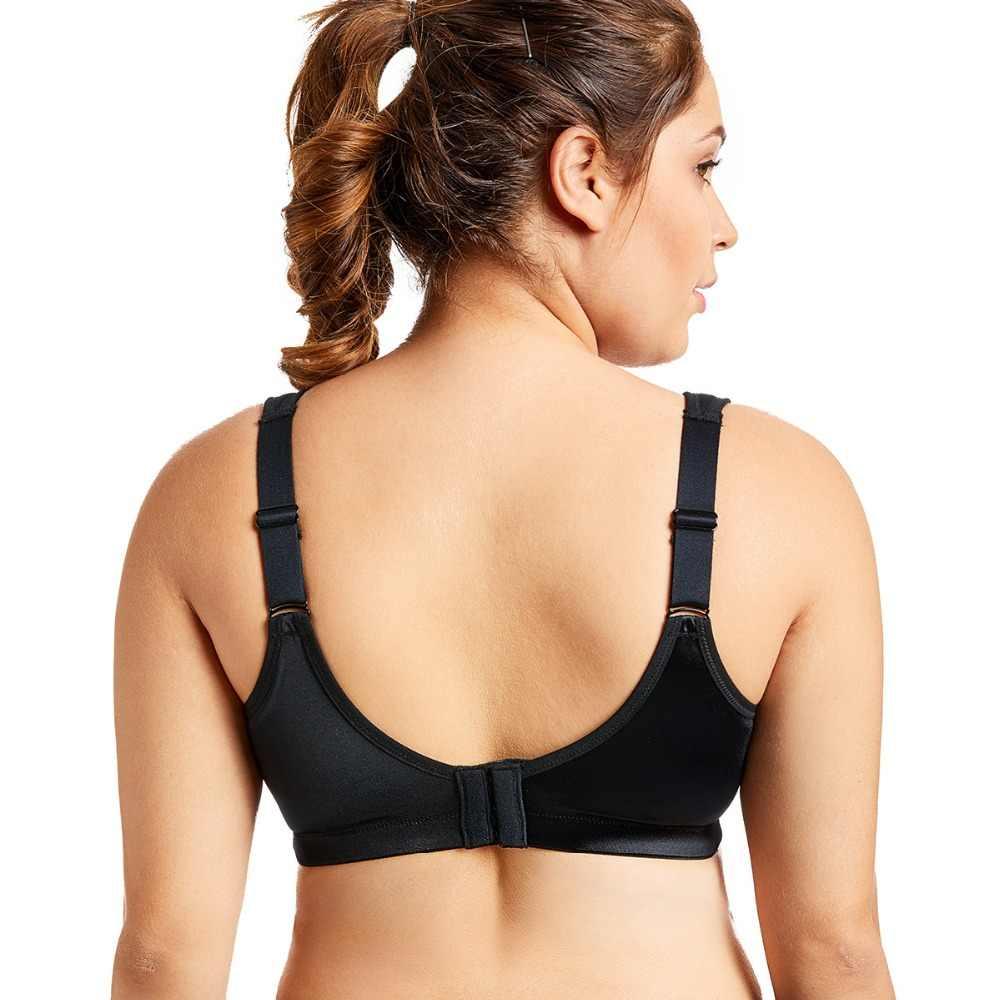 83d4be827ab ... SYROKAN Women s Plus Size High Impact No-Bounce Full Figure Cami Sports  ...