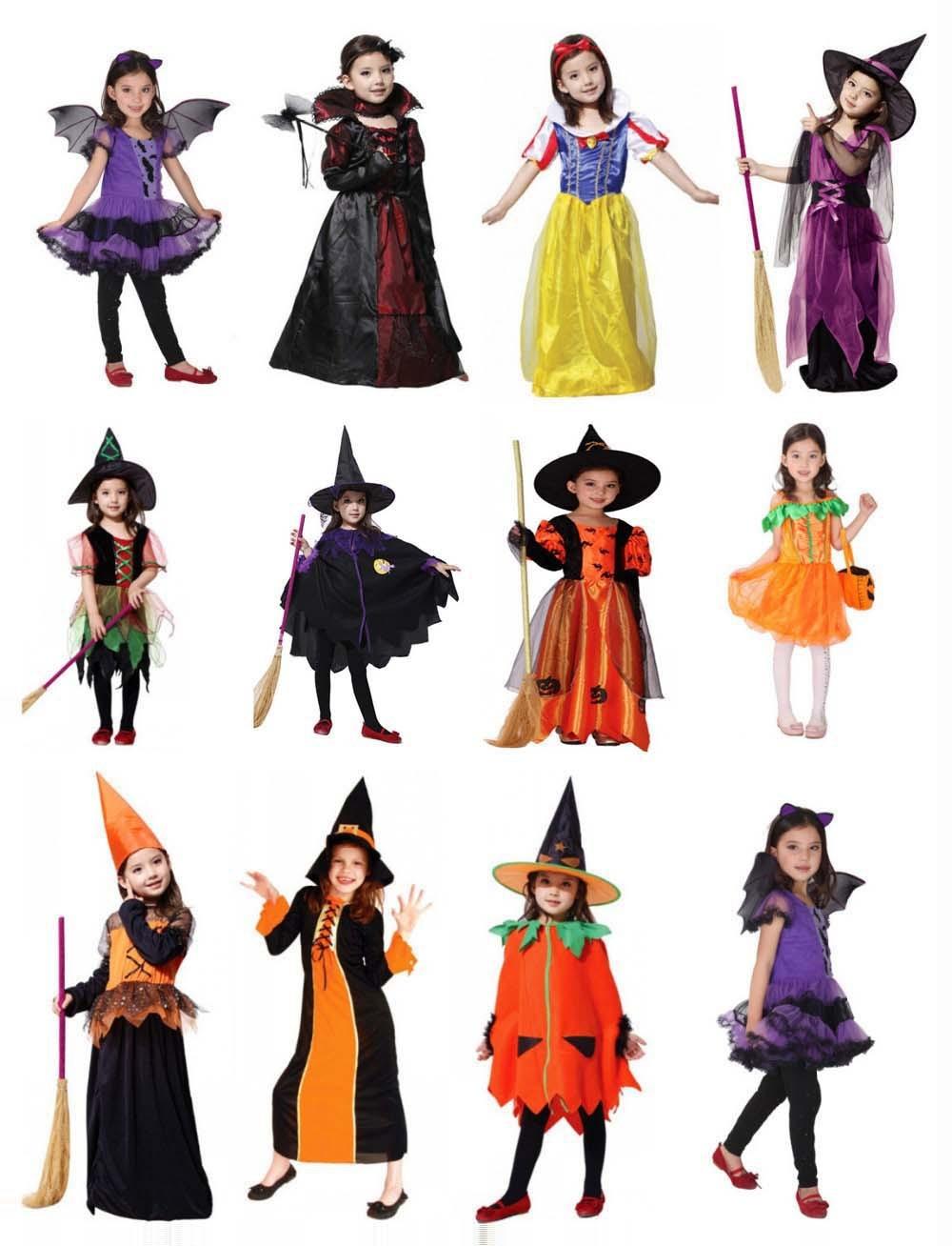 2015 New Cute Vampire Costume Halloween Costume for Kids Girl ...