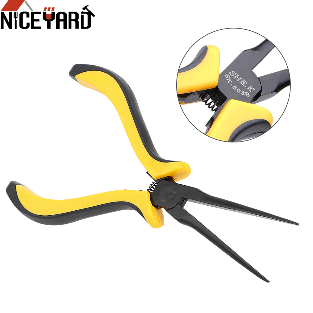 Niceyard 11 5cm Electricity Cable Cutting Tool Wire Cutter Pliers Electrican Work Diagonal Pliers Garden Electrical Repair Tool Leather Bag