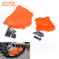 Clutch Water Pump Cover Protector For KTM 250 350 SXF EXC FXCF XCFW SX F EXC