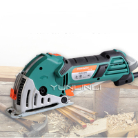 Electric Circular Saw Woodworking Tools Metal Tiles Mini Cutting Machine Household Chainsaw Set With Free 6 Saw Blades PS7818MS