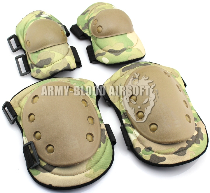 Advanced Advanced Tactical Elbow / Knee Brace Group (MC BK DE ACU OD Digital Woodland Woodland)