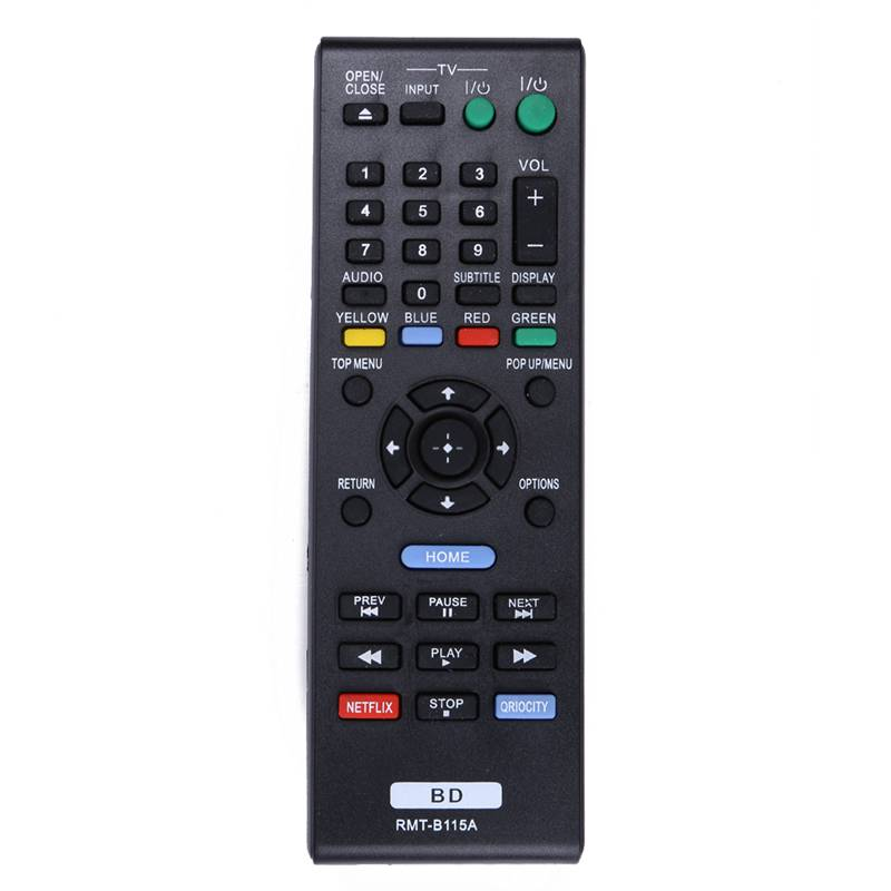 1Pc New Smart Home Remote Control RMT-B115A For Sony Blu-Ray DVD Player BDP-S480 BDP-580 BDP-S2100 sony bdp s 6500 b