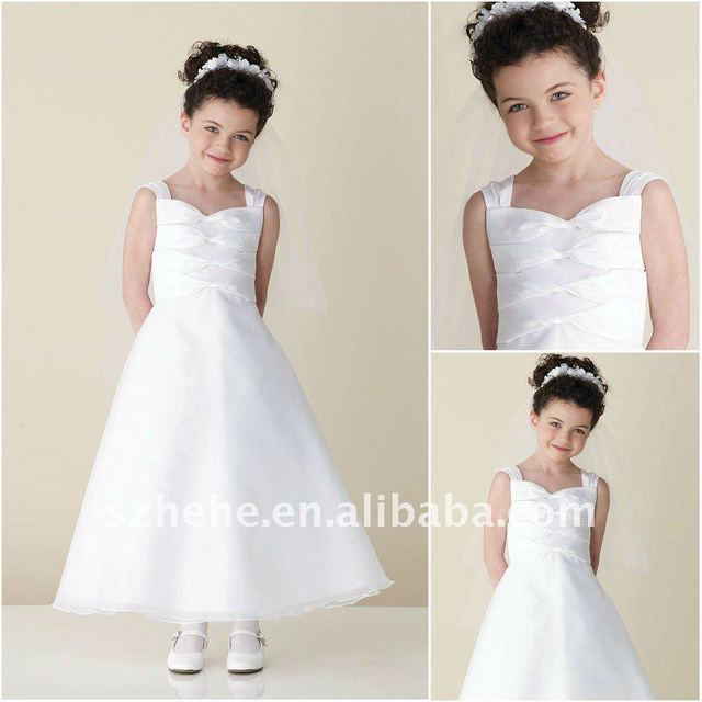 Freedrop shipping cost a line organza snow white flower girl dress freedrop shipping cost a line organza snow white flower girl dress mightylinksfo