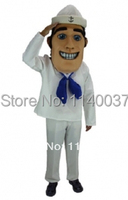 MASCOT Sailor Mascot Military Navy Mascot Costume Cartoon Character carnival costume fancy Costume party