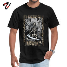 La mort Summer Father Day Print On Demand Fabric O Neck Mens Tops Tees Printed Special UFO Sleeve T-shirts
