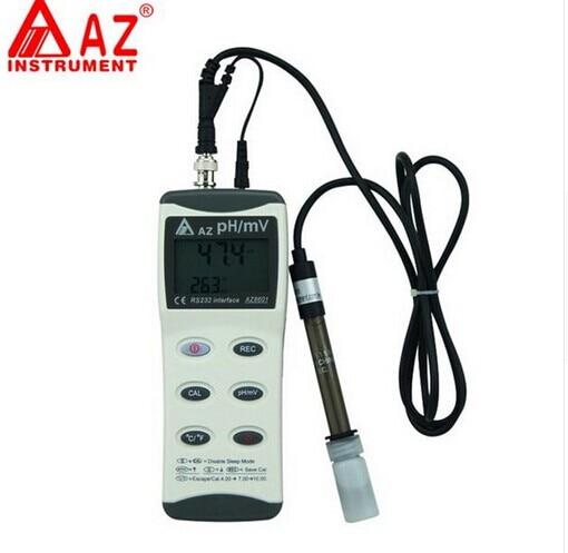 AZ8601 Портативный Гендель большой ЖК дисплей рН метр AZ 8601PH и МВ и Температура AZ 8601 - 2