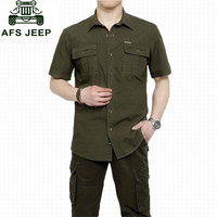 Plus Size XXXXXL Summer Men S 100 Cotton Shirts Solid Color Dress Short Sleeve Shirts Casual