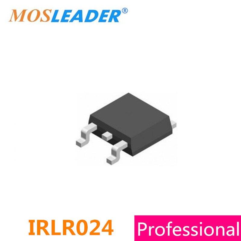 Mosleader IRLR024 IRLR024N TO252 500PCS 60V 20A 55V 17A N Channel IRLR024PBF IRLR024NPBF IRLR024TRPBF IRLR024NTRPBF DPAK