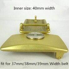 Pure copper brass buckle belt buckle belt buckle plate men pants belt head lead ladies belt head