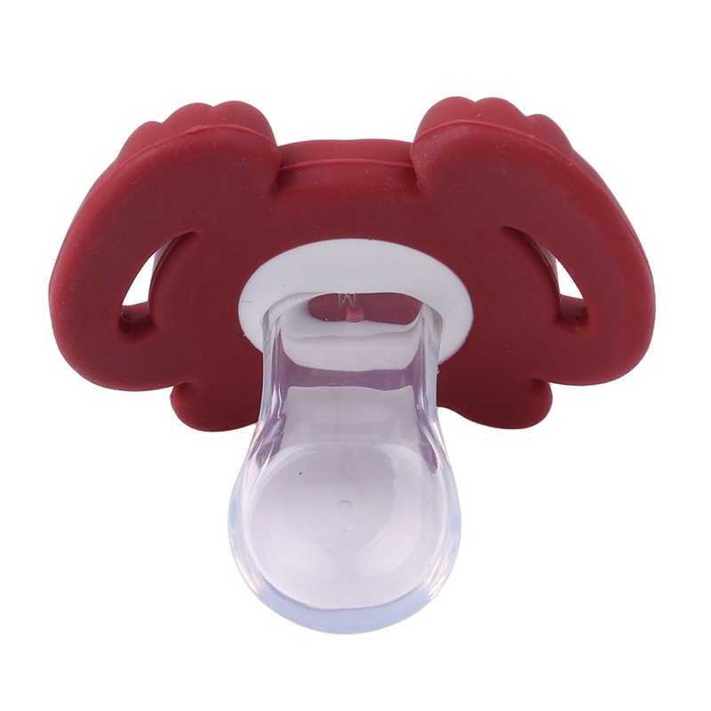1 шт. Детские пустышки безопасный пищевой Клас АБС, силикон забавные детские соски Детские зубные пустышки в форме животного