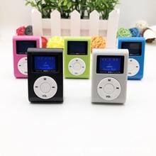 цена на new2018 New Style Mini USB Clip MP3 Player LCD Screen Support 32GB Micro SD TF Card mp3 player minidrop shopping
