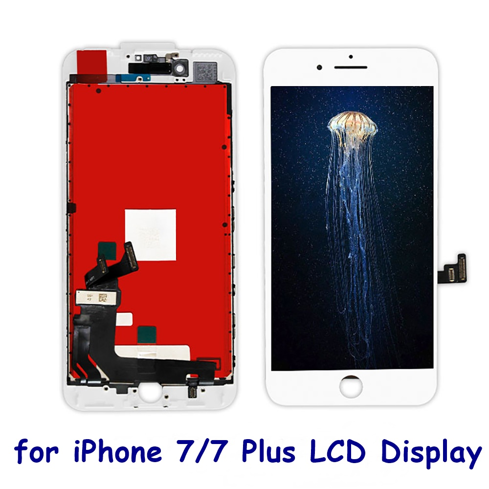 Lcd-Display Assembly Touch-Screen Tempered-Glass Pixel 7-Plus iPhone 6 Digitizer