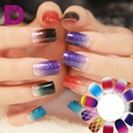 1pcs high quality gradient color series nails art stickers full nail stickers nail kit