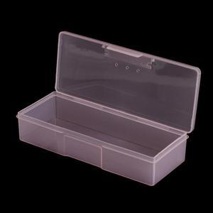Image 5 - 1pc קעקוע להב מחט אחסון תיבת רקמה ידנית Microblading עט מלבן תצוגה ארגונית מיכל