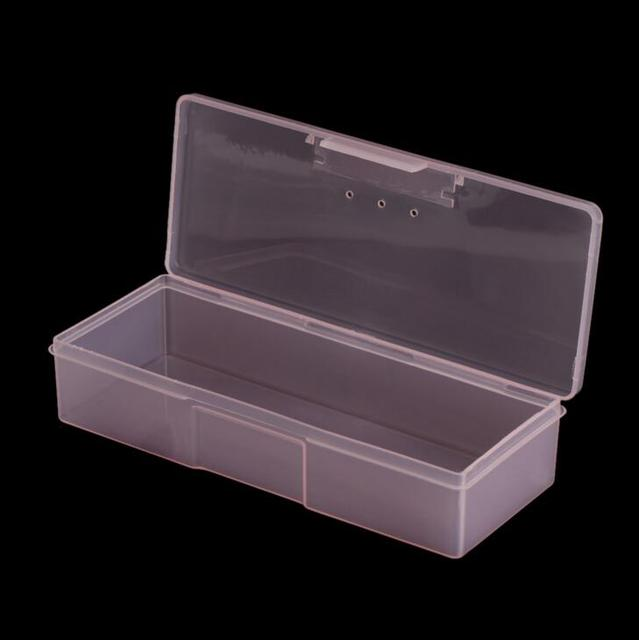 1pc Tattoo Blade needle Storage Box Manual Embroidery Microblading Pen Rectangle Organizer Display Container 4