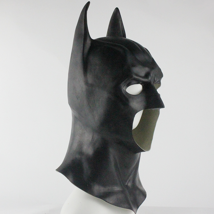 Image 2 - Batman Masks Full Head Batman Vs Superman Mask Dark Knight Latex Mask Cosplay Batman Mask Halloween Partyparty party partyparty batmanparty halloween -