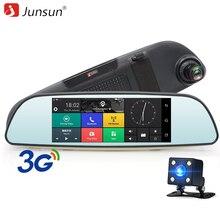 Junsun 6 86 Car DVR 3G Rearview Mirror Dual Lens Recorder font b Camera b font