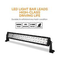 Dragonpad 21inch 2 Rows 200W LED Off road Roof Car Headlights Strip Bar Lights Car Lighting Supplies Accessories