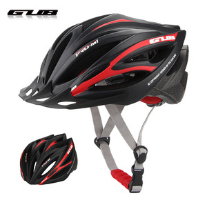 GUB M1 Unisex Ultralight 21 vents Cycling MTB Mountain Road Bicycle Bike Helmet Women Men Integrally-mold Visor Bicycle Helmet