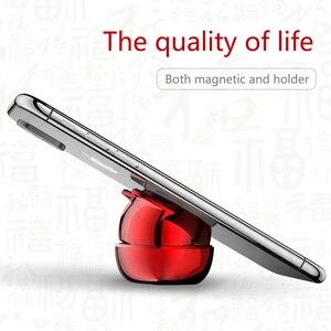 Image 2 - OATSBASF Soporte Universal de teléfono para coche, soporte magnético para teléfono móvil con GPS de 360 grados, para Xiaomi Redmi Note 7