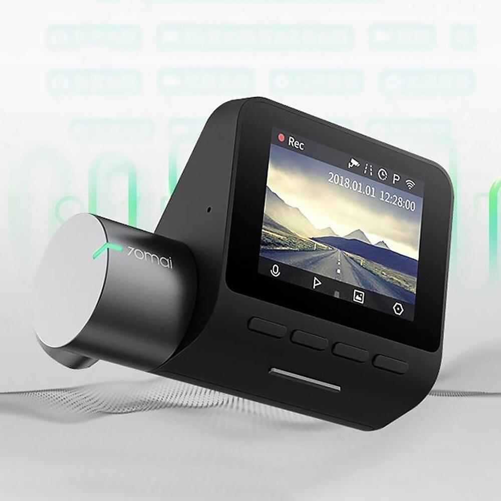 Xiaomi 70mai Dash Cam Pro 1944 P GPS para 24-H Monitor de aparcamiento Super claro de ángulo ancho para la versión de la noche DVR - 5