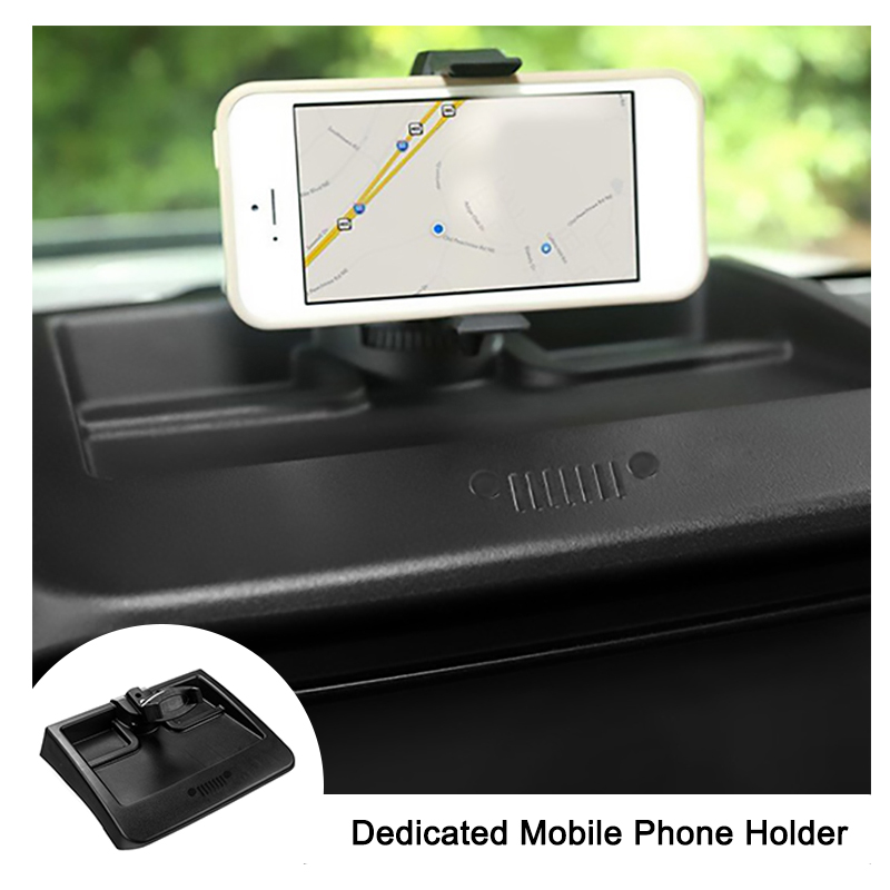 Dedicated Mobile Phone Holder Mount Cell Phone Bracket For Jeep Wrangler 2008 2009 2010 11 Car