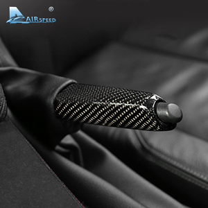 Image 4 - Carbon Fiber Universal Car Handbrake Grips Cover Interior for BMW 1 2 3 4 Series E46 E90 E92 E60 E39 F30 F34 F10 F20 Accessories