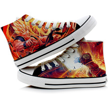 Anime Dragon Ball Z Printed Canvas Shoes