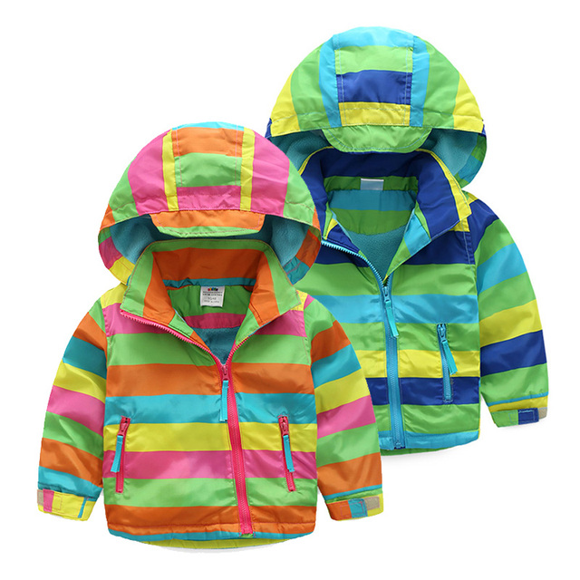 6b9151c3b Kids Outerwear coats 2017Autumn Winter New Style Baby Boys And Girls ...