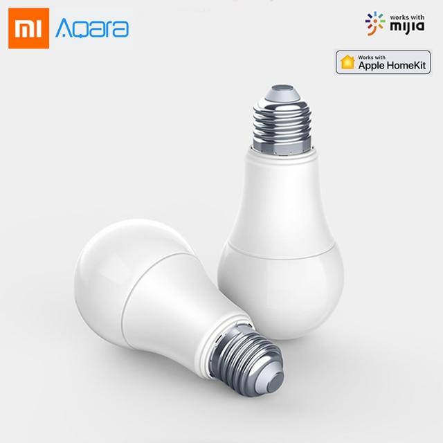 Original XIAOMI Aqara 9W E27 2700K-6500K 806lum Smart White Color LED Bulb Light Lamp Work with Home Kits and MI Home APP