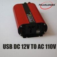 Dual USB DC 24V to AC 220V/ DC 12V to AC 220V/ 2000W Power Car Inverter DC 12V to AC 110V/ DC 24V to AC 110V/ Converter